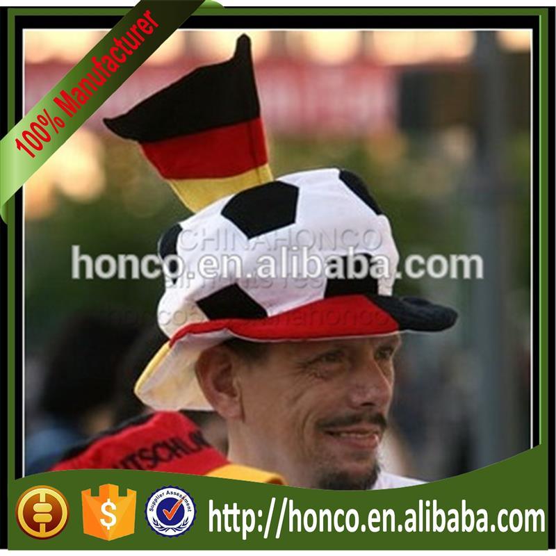 d830d9f83eb Dense Velvet Germany Soccer Fans Cap germany Fans Hat For Euro 2016 ...