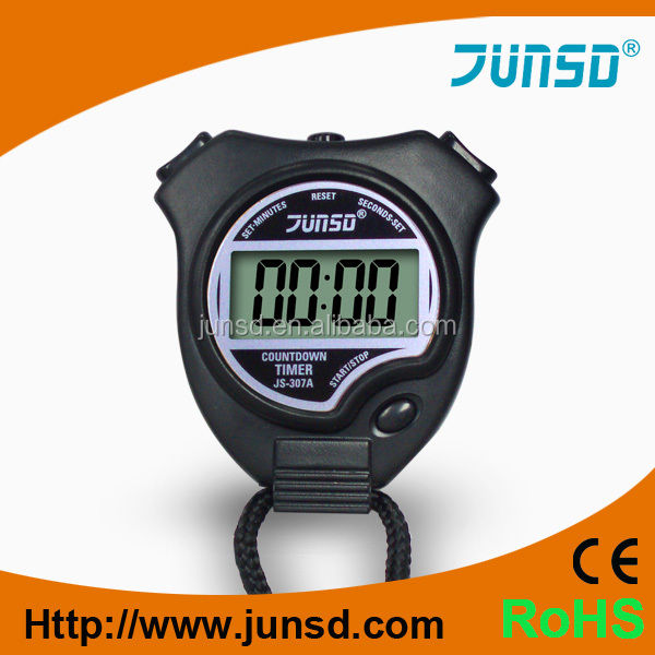 Junsd 8 Colors Digital Stopwatch Alarm Countdown Timer With 2 Lap Memory  Js-307 - Buy Digital Stopwatch,2 Lap Memory Stopwatch,Junsd Stopwatch  Product