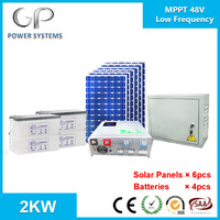 [GP-IB-M2000] 2KW Home Solar Power Systems Low Frequency Hybrid Inverter with MPPT Solar Charge Controller