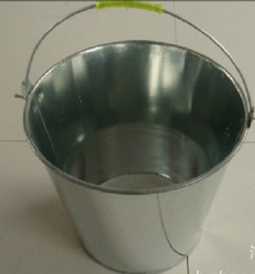 Galvanized buckets metal,bucket stand with handle