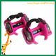 Children sporting pulley lighted flashing wheels heel skate rollers skates 4 wheels shoe flashing roller skate