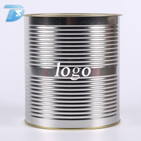 food grade tin containers easy open cup mini tin can oem packaging for sale philippines