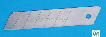 snap off cabon steel blades ,High quality ,18mm*100mm,Factory direct sales