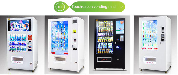 Competetive Price Touch Screen Vending Machine Interactive Vending Machine