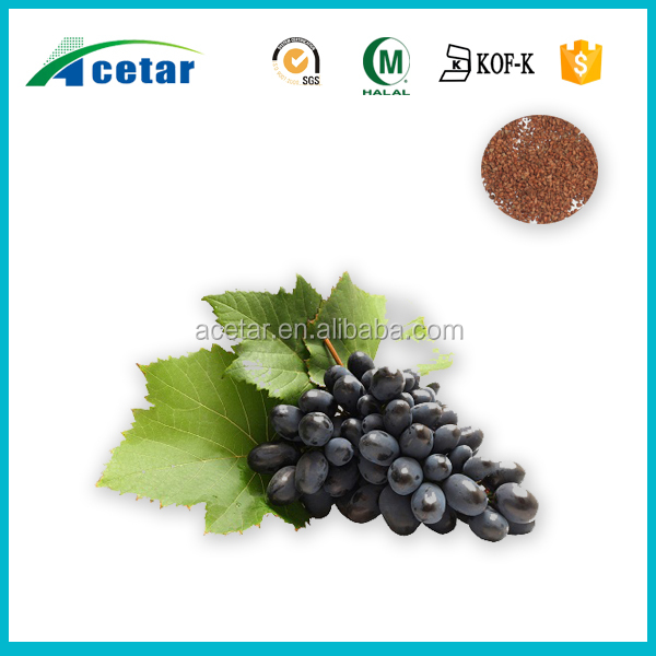 Organic Grape seed extract softgel capsule