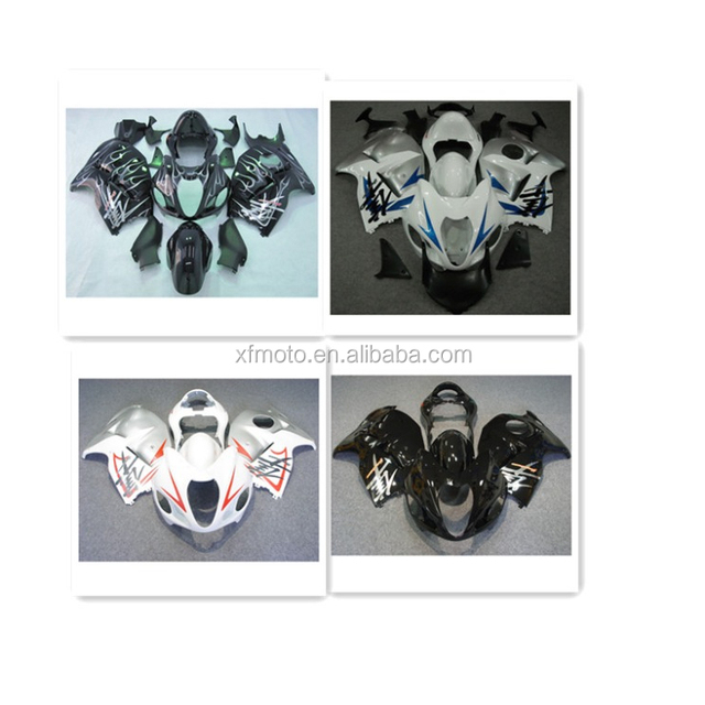 TCMT Blue INJECTION ABS Fairing For SUZUKI HAYABUSA GSXR1300 99-07 2B