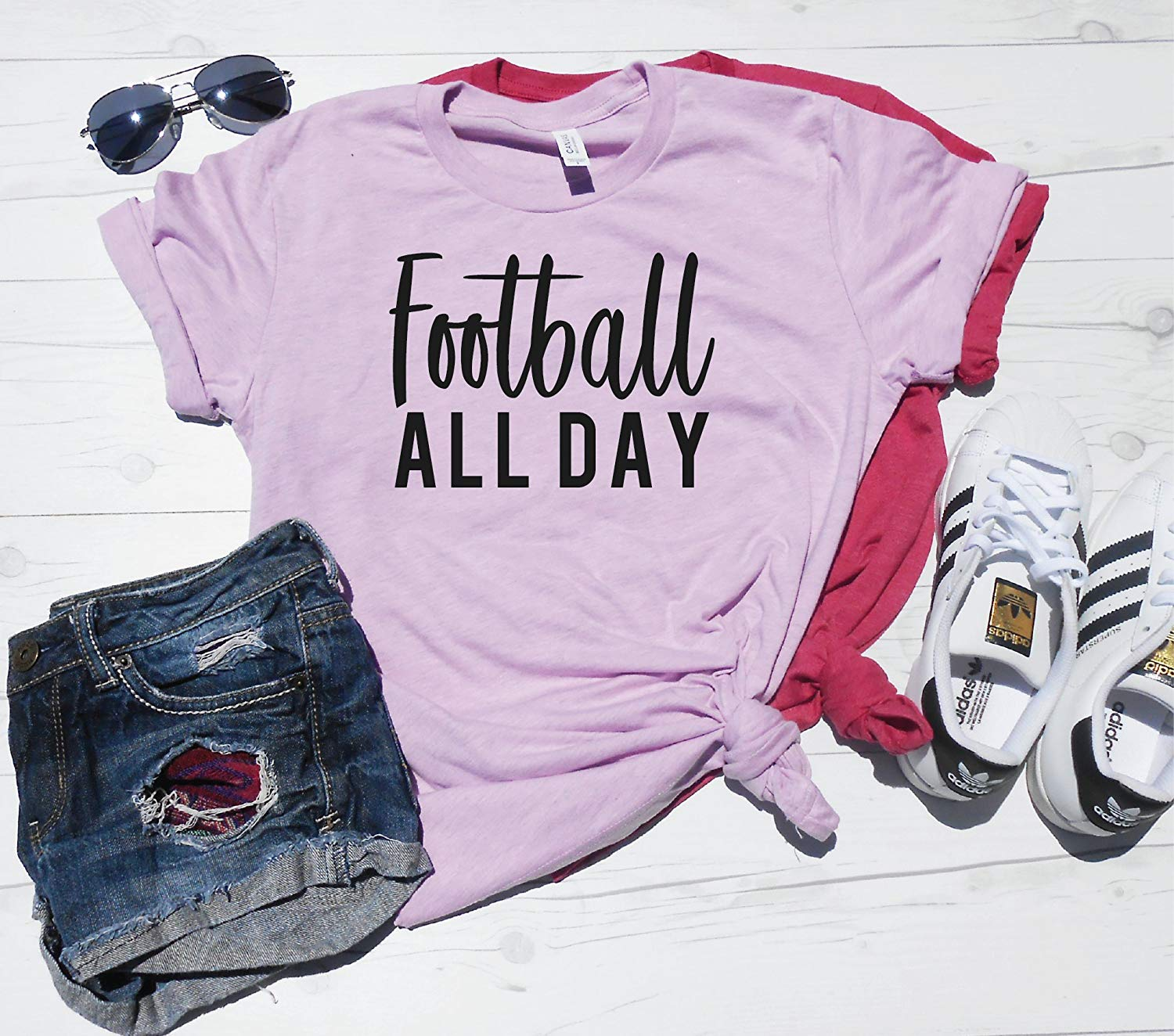 Football All Day, Game Day Shirt, Football Season shirt,Cute Football Shirt, Football Game T-Shirt, Mom Football Shirt, Football Season Shirt, First day of Football Shirt