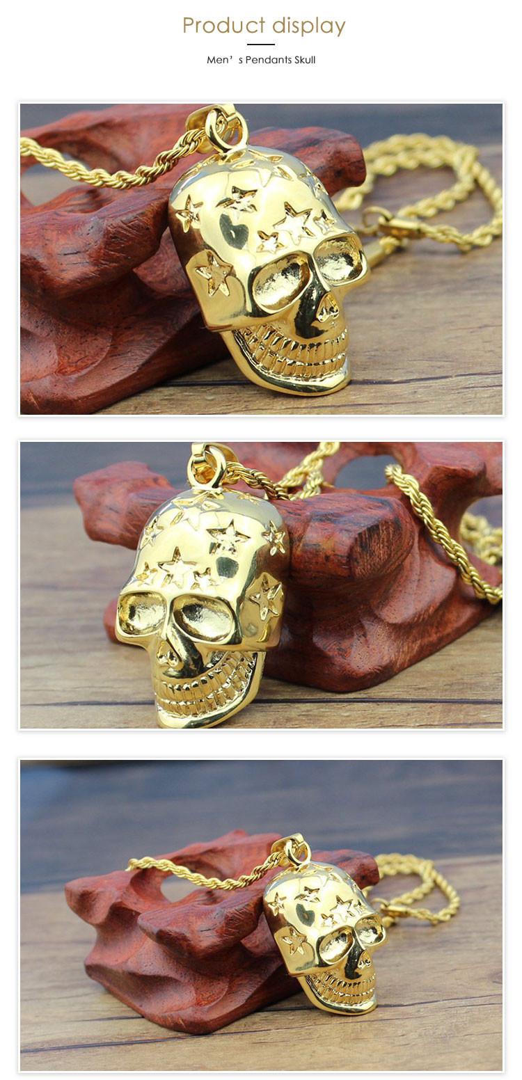 V cool fashion biowill scalar energy pendant new designed gold v cool fashion biowill scalar energy pendant new designed gold chain skull pendant mozeypictures Choice Image