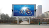 P10mm outdoor full color led display screen led moving message sign Wifi wireless double sided outdoor led display