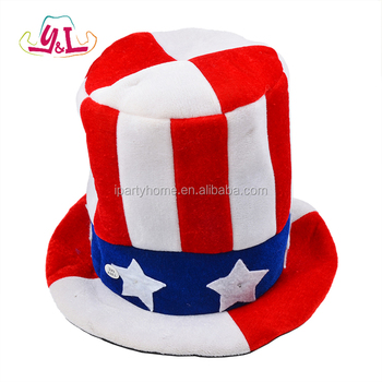 098d1386d0f63 American Flag Led Light Up Top Hat For 4th Of July Custom - Buy High ...
