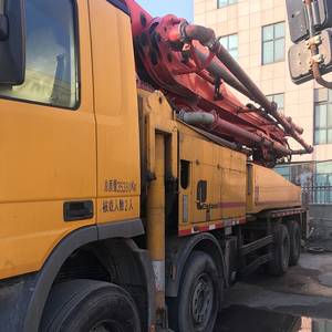 Good 2010 year volvo 46 Meter 32meter volvo Used Truck Mounted Concrete Pump for Sale