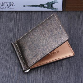 86e7b569fb7b Money Clips Pocket Classic Luxury Men Dollar Price Clip Multi-color 2 Folds  Style Money