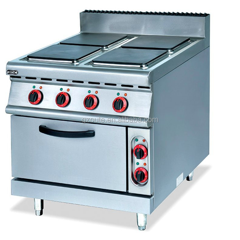 Lovely HIgh Quality Commercial Electric Range With 4 Burner Electric Square Hot  Plate With Oven