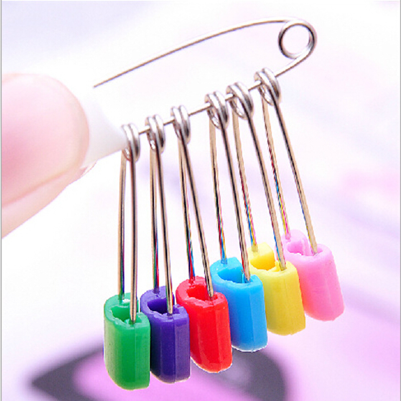 buy 50pcs safety hold locking baby cloth diaper pins baby safety
