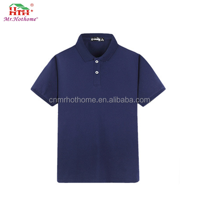 Girls uniform polo shirts polyester material