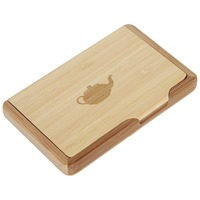 rectangle business card holder bamboo card holder for special and fashion design