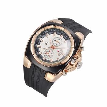 promo code 762eb da5bc V6男性スポーツシリコン腕時計v0048男性石英の腕時計アナログカジュアルファッションミリタリー腕時計レロジ ...
