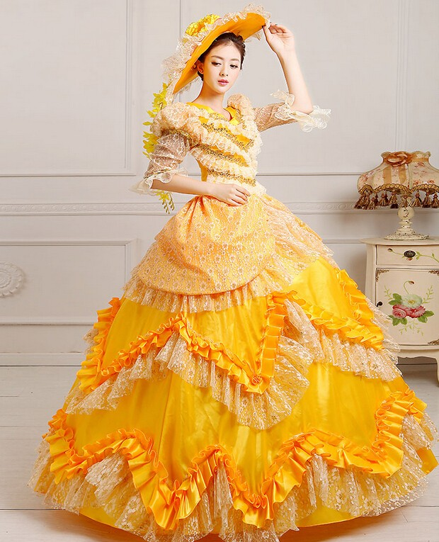 Ladies Victorian / Edwardian Costume Skirt Gentry / Ball Gown Fancy ...