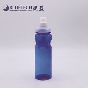 sport carbon water bottle with filter