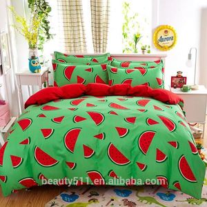 Modern micro bed set/polyester microfiber bed sheet sets manufacturer customized acceptable BS347