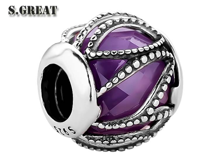 17 new styles hot sale fit pandora charms beaded wholesale european 925 sterling silver fit pandora charms beaded