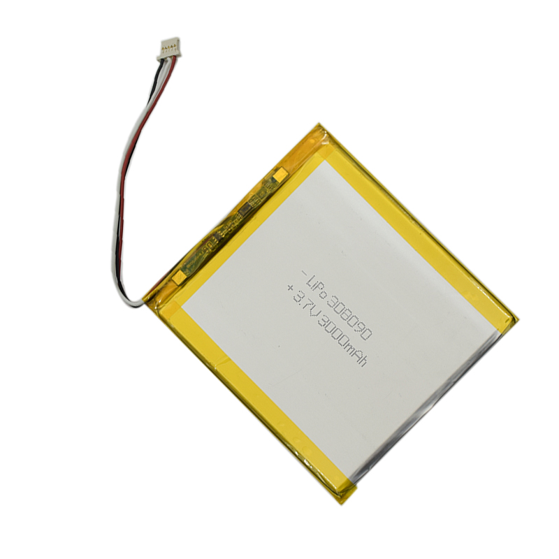 Wholesale rechargeable 3.7V flat lithium polymer battery 3.7v 3000mah 11.1wh