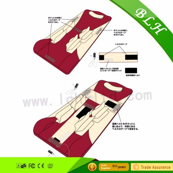 Air pressure Full-Body Massage mat Health Care Health Monitors Massage Mattress Cushion Vibration Head Body