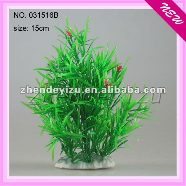 boyu wholesale aquarium manufacturers artificial plastic plant in fish tank