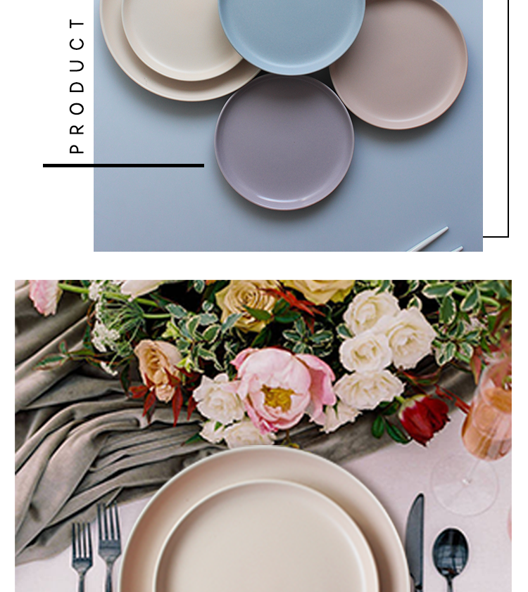 Wholesale customized round porcelain salad plate set, hot sale china white deep ceramic dinner plates for restaurant