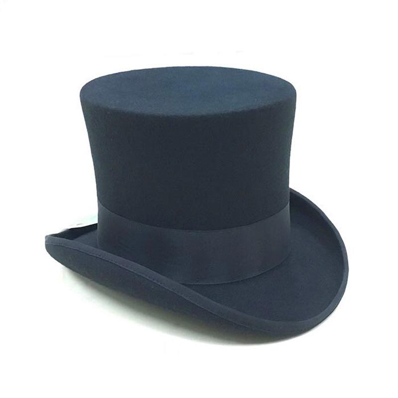 De 18 Cm De Lana Fieltro Negro Sombrero - Buy Etiqueta  Sombrero De ... 8d463d30fce