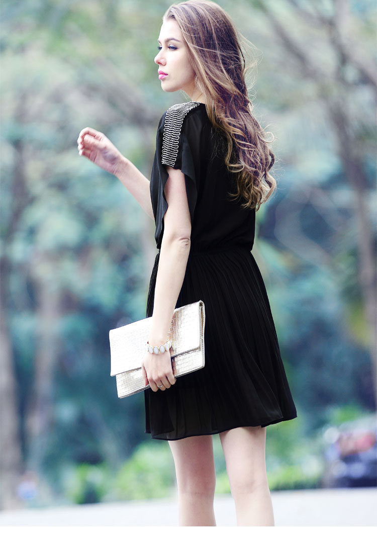 e027362e0ac Latest Casual Lace Dress Elegant Sleeveless black lace knee length dress  for Ladies  Girls