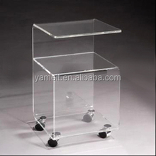 New product Acrylic furniture good design bed end bench tea table