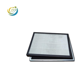 Wholesale Synthetic pp filter paper cheap HEPA air purifier filter parts manufacturer from China