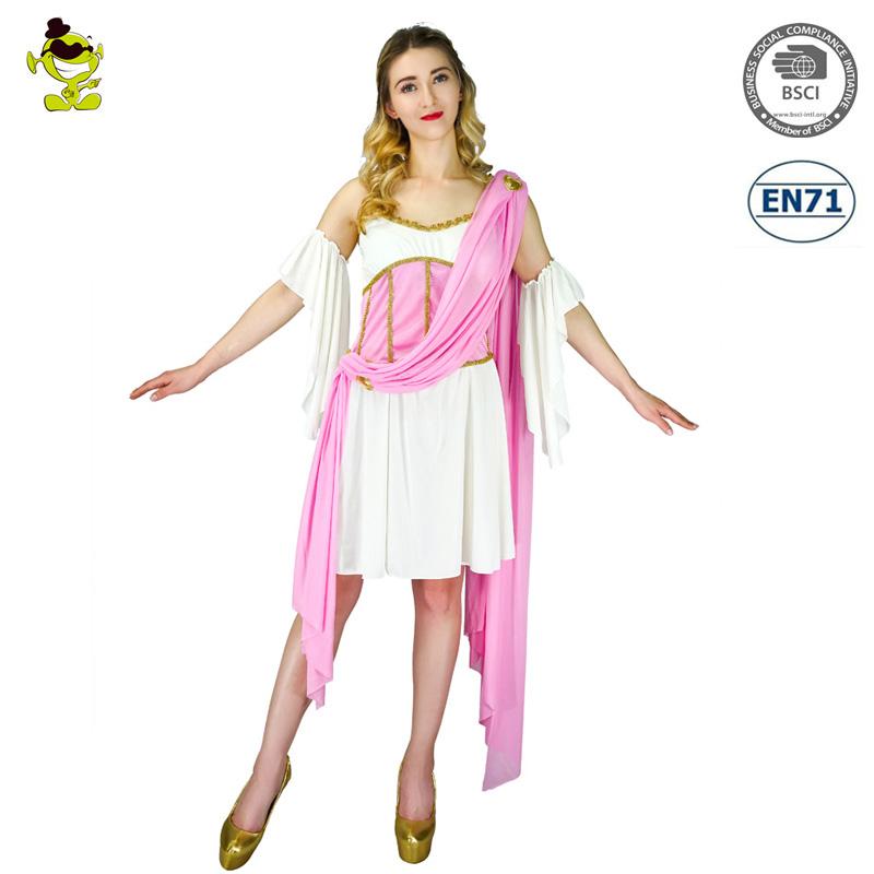 Adulto Griego Antiguo Roma Trajes Diosa Venus Afrodita Toga Trajes ...