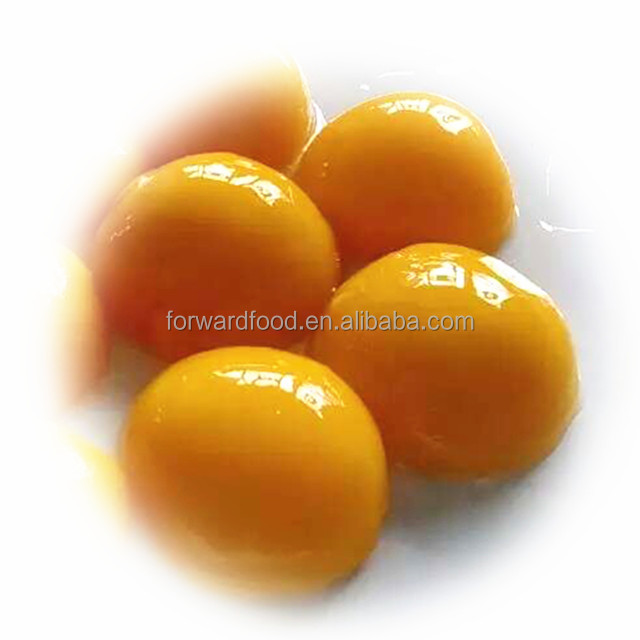canned fresh yellow peach halves fruit in light syrup