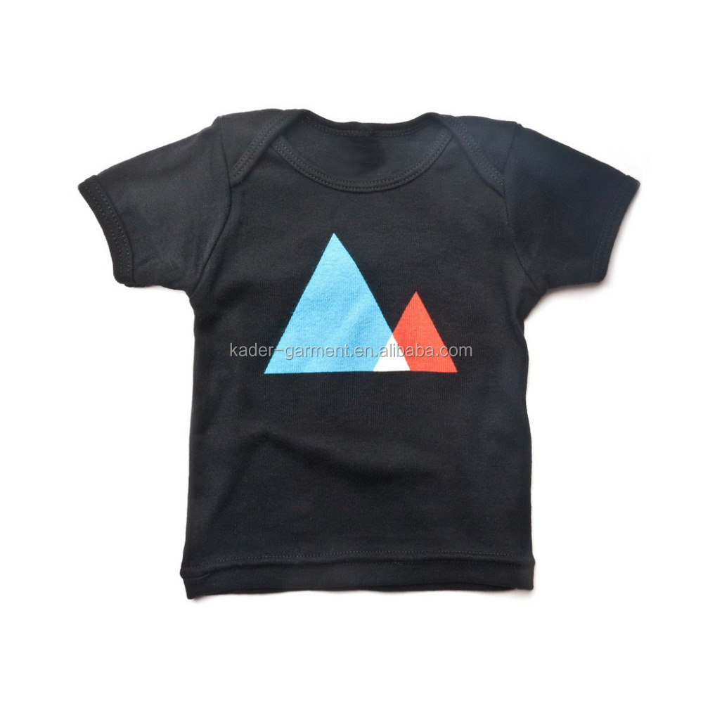 Black t shirt in bulk - 100 Organic Cotton Children Black T Shirt Wholesale