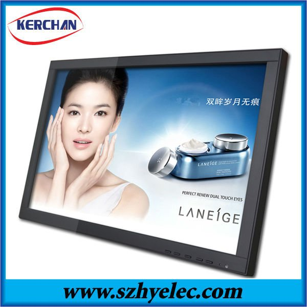 LED backlight 19 inch wall mounting large digital photo frame with full function(DPF9190 )