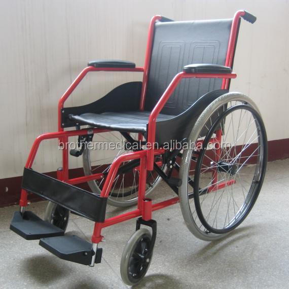 steel wheelchair BME 4620 to climb stair Double cross brace