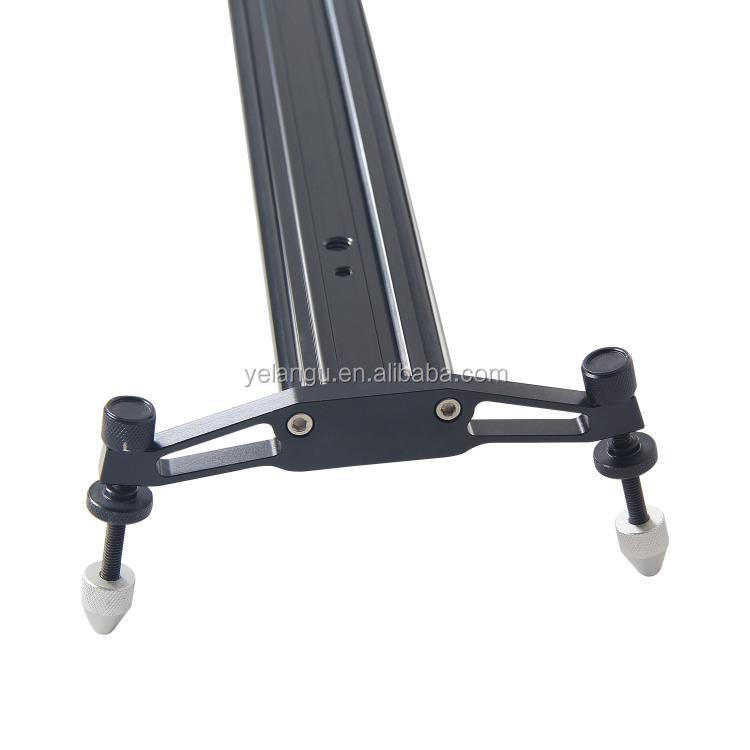 YELANGU 120cm Camera Video Track Slider with Ball-Bearing for DSLR Cameras And Camcorders