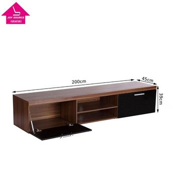 Long Modern Wood Led Tv Cabinet Tv Stand For 65 Inch Tv Buy