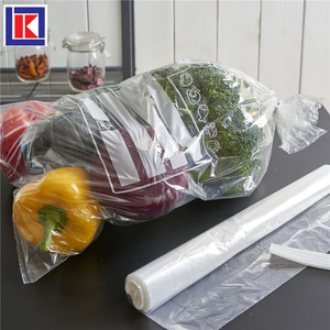 Reusable Home Food Sealing Container Silicone Food fresh vegetable packaging bag