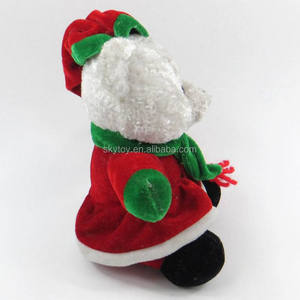 stuffed singing christmas toys stuffed singing christmas toys suppliers and manufacturers at alibabacom - Singing Christmas Toys