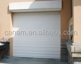 Cheap aluminium rolling up shutter garage door