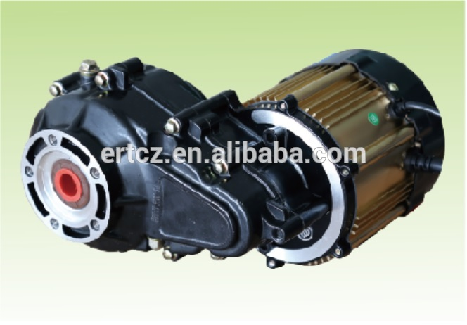 electric car dc motor kw