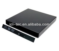 13pin Slim SATA to USB External Portable Case for Laptop CD-ROM DVD DVD-RW Drive