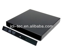 13pin Slim SATA to USB External Portable Case for Laptop CD-ROM DVD DVD-RW Drive