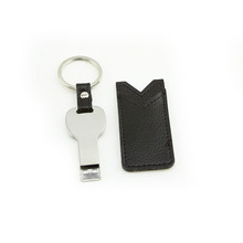 Key Shape Metal Usb Flash Drive 64Gb Pendrive 32Gb U Disk 16Gb 8Gb 4Gb Waterproof Usb 2.0 Memory Stick With Leather Case