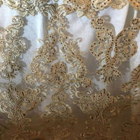 New fancy round embroidery wedding table cloth overlay