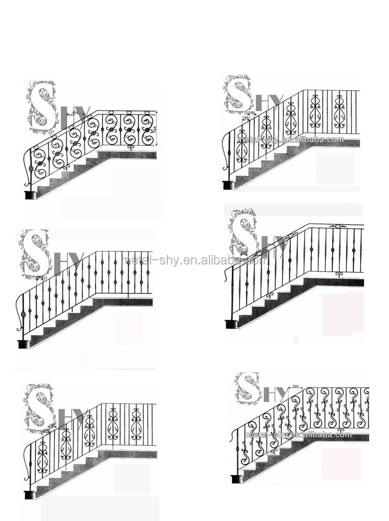Outdoor Metal Stair Railings For Sale - Buy Outdoor Metal ...