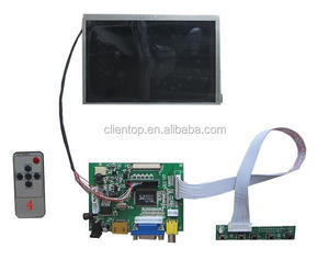 Lcd display fpc 5 inch 1080p lcd panel VGA +2AV LCD driver board